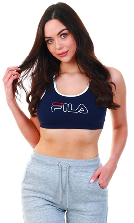 Fila Navy Rebeca Bra Top  - Click to view a larger image