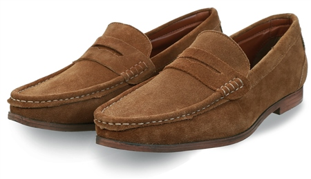 Catesby Tan Slip On Shoe  - Click to view a larger image