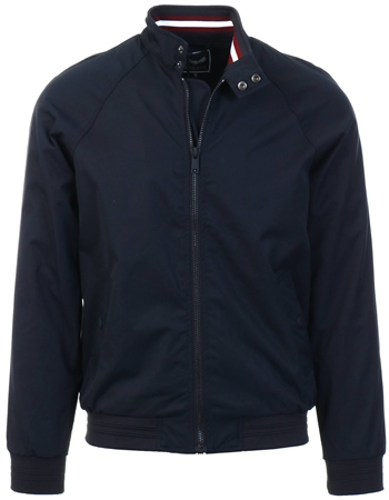 Brave Soul Navy Zip Up Jacket  - Click to view a larger image