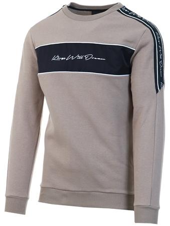 Kings Will Dream Dark Sand Noston Fleece Sweatshirt  - Click to view a larger image