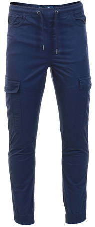 Tokyo Laundry Navy Cargo Trouser  - Click to view a larger image