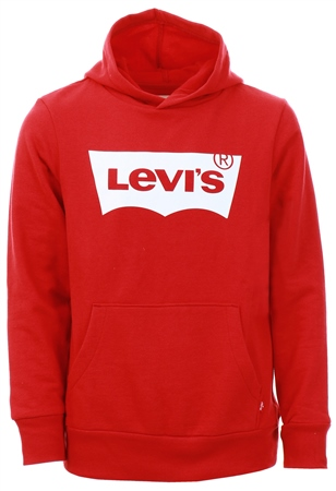 Levi's® Red/White Batwing Screenprint Hoodie Kids  - Click to view a larger image