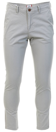 Jack & Jones Grey Marco Bowie Slim Fit Chinos  - Click to view a larger image