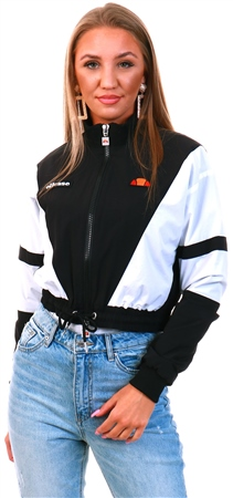 Ellesse Black Stephanie Cropped Jacket  - Click to view a larger image