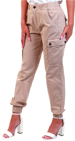 Veromoda Nomad Normal Waist Cargo Trousers  - Click to view a larger image