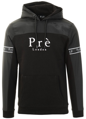 Pre London Black Eclipse Nylon Hoodie  - Click to view a larger image