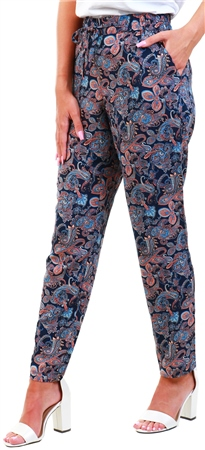 Veromoda Night Sky / Navy Normal Waist Loose Fit Jeans  - Click to view a larger image