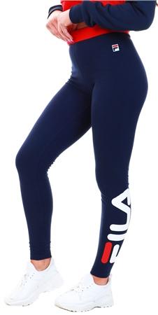 Fila Navy / White Imelda - Logo Leggings  - Click to view a larger image