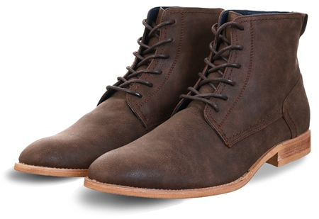 Cavani Brown Hurricane Lace Up Boots  - Click to view a larger image