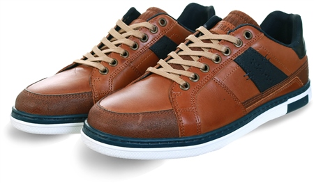 Lloyd & Pryce Toffee Lace Up Trainer  - Click to view a larger image