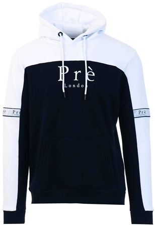 Pre London White /Black Eclipse Hoodie  - Click to view a larger image