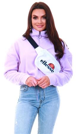Brave Soul Lilac Half Zip Fleece  - Click to view a larger image