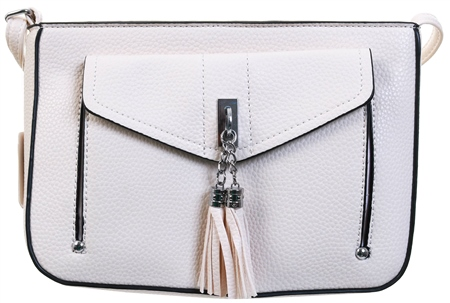 Koko White Shoulder Bag  - Click to view a larger image
