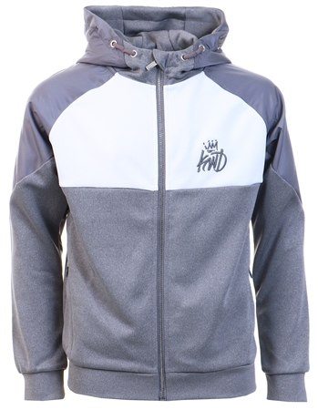 Kings Will Dream Grey Yeddon Hoodie  - Click to view a larger image
