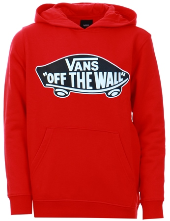 Vans Racing Red Logo Pull Over Hoodie  - Click to view a larger image