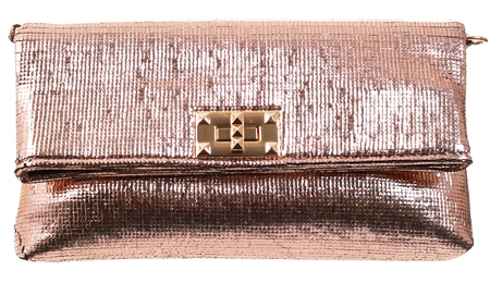 Koko Champagne Clutch Bag  - Click to view a larger image
