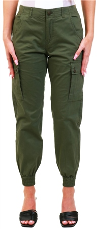 Veromoda Green / Ivy Green Cargo Pocket Pants  - Click to view a larger image
