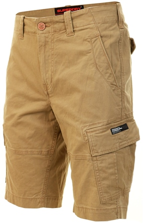 Superdry Dress Beige Core Cargo Shorts  - Click to view a larger image