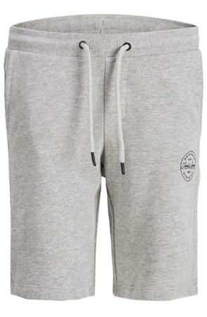 Jack & Jones Grey Shark Sweat Shorts  - Click to view a larger image