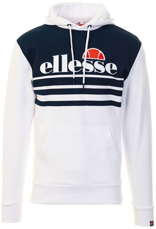 Ellesse White Rivera Hoody  - Click to view a larger image