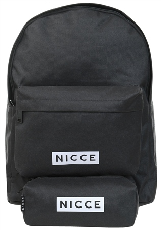 Nicce Black Station Backpack  - Click to view a larger image