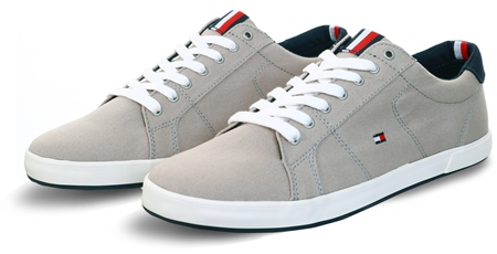 Tommy Jeans Stone Tommy Icons Lace-Up Trainers  - Click to view a larger image