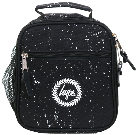 Hype Black Speckle Lunch Box Bag  - Click to view a larger image