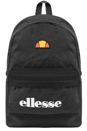 Ellesse Charcoal / Black Regent Printed Backpack  - Click to view a larger image