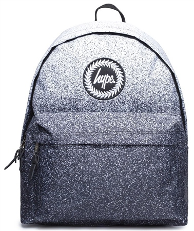 Hype Black Speckle Fade Backpack  - Click to view a larger image