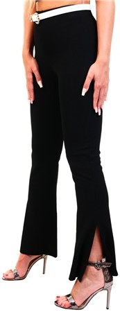 Brave Soul Black Flare Trouser  - Click to view a larger image