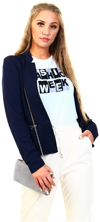 Only Blue / Night Sky Short Blazer  - Click to view a larger image