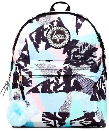 Hype Pastel Abstract Backpack  - Click to view a larger image