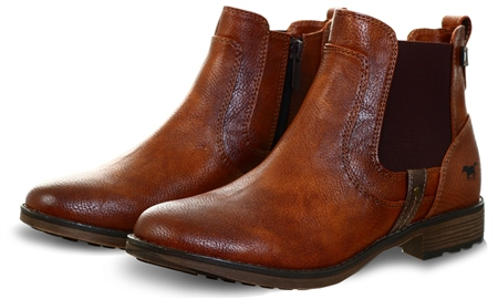 Mustang Cognac Chelsea Boot  - Click to view a larger image
