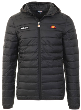 Ellesse Black Lombardy Jacket  - Click to view a larger image