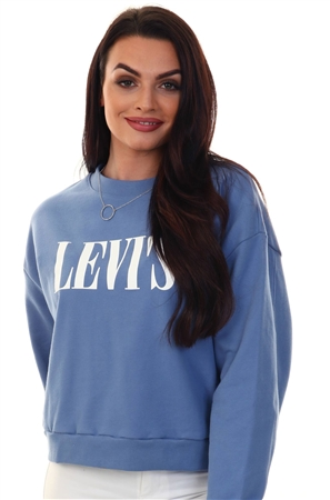 Levi's® Graphic Serif Diana Crew  - Click to view a larger image
