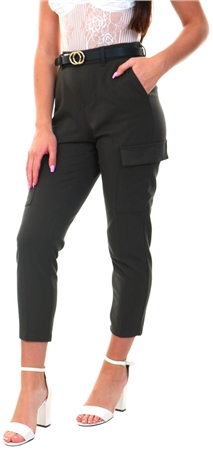 Veromoda Peat Maya Loose Cargo Pant  - Click to view a larger image