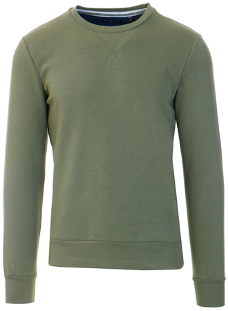 Brave Soul Dusty Green Sweater  - Click to view a larger image