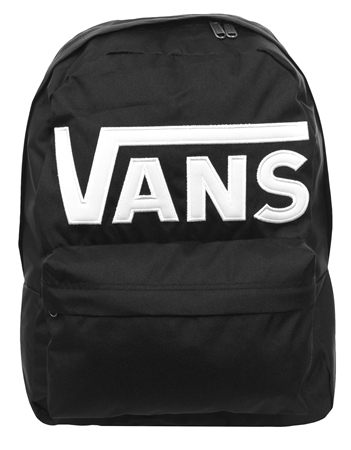 Vans Black / White Old Skool Backpack  - Click to view a larger image