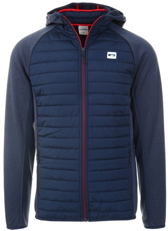 Jack & Jones Blue / Navy Blazer Light Quilted Jacket  - Click to view a larger image