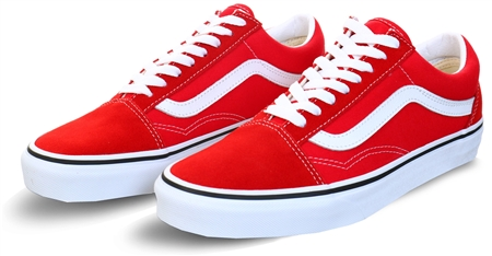 Vans Racing Red Old Skool Shoes | Shop