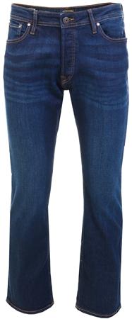 Jack & Jones Blue Denim Jake Original Bootcut Jeans  - Click to view a larger image