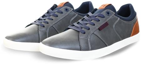 Lloyd & Pryce Slate Mix Robinson Slate Pu Shoes  - Click to view a larger image