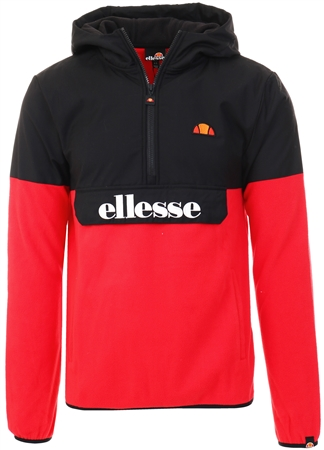 Ellesse Red/Black Freccia Oh Jacket  - Click to view a larger image