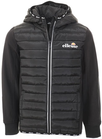 Ellesse Black Glinta Padded Jacket  - Click to view a larger image