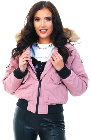 Goodfornothing Pink Fortitude Jacket  - Click to view a larger image