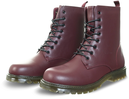 Dv8 Burgundy Lace Up Boot  - Click to view a larger image