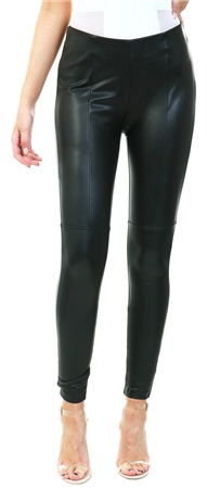 Only Black Nell-Miri Faux Leather Legging  - Click to view a larger image