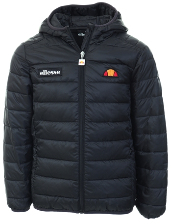 Ellesse Black Regalio Junior Padded Jacket  - Click to view a larger image