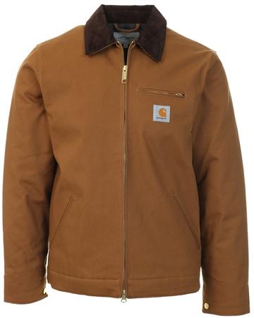 Carhartt Hamilton Brown Rigid Detroit Jacket  - Click to view a larger image