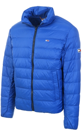 Tommy Jeans Providence Blue Packable Down Jacket  - Click to view a larger image